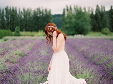 woodinville lavender farm wedding inspiration on film