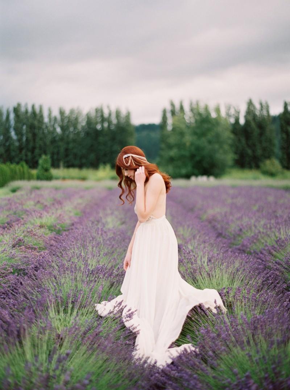 woodinville lavender farm wedding inspiration on film