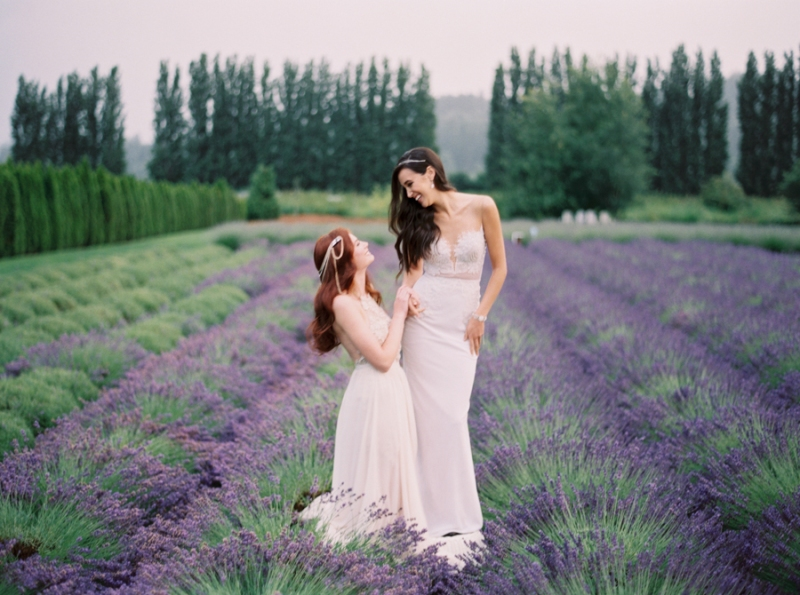 woodinville lavender farm wedding