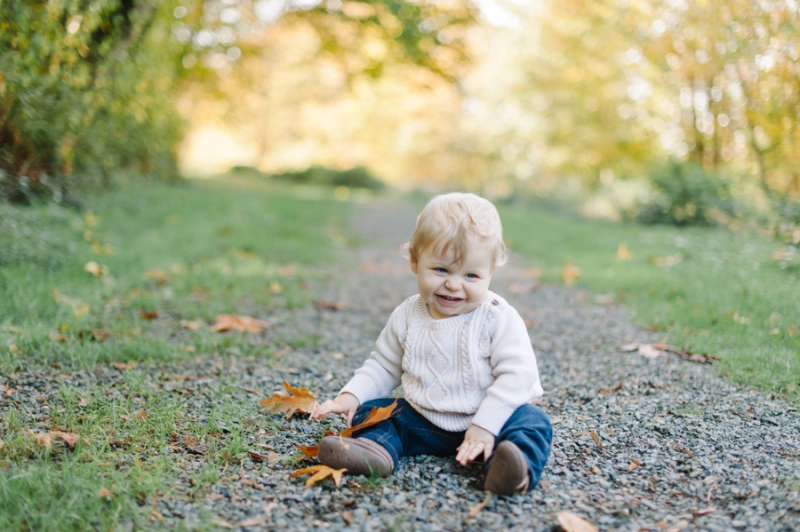 Seattle Family Photographer fall