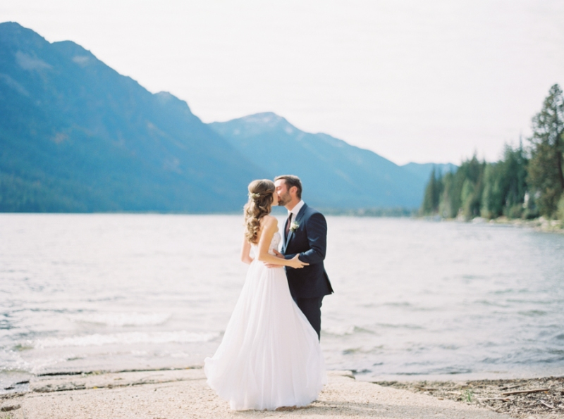 lake wenatchee wedding photos