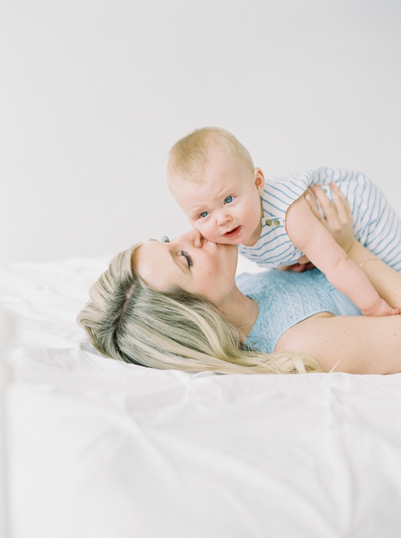 Seattle Baby Portraits on film