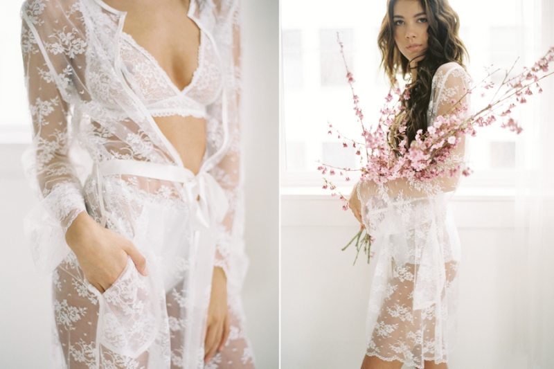 lace bridal robes seattle boudoir photographer