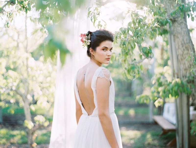 Wa Orchard Wedding Bride