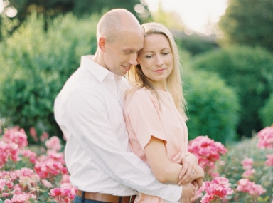 seattle fine art film engagement photography