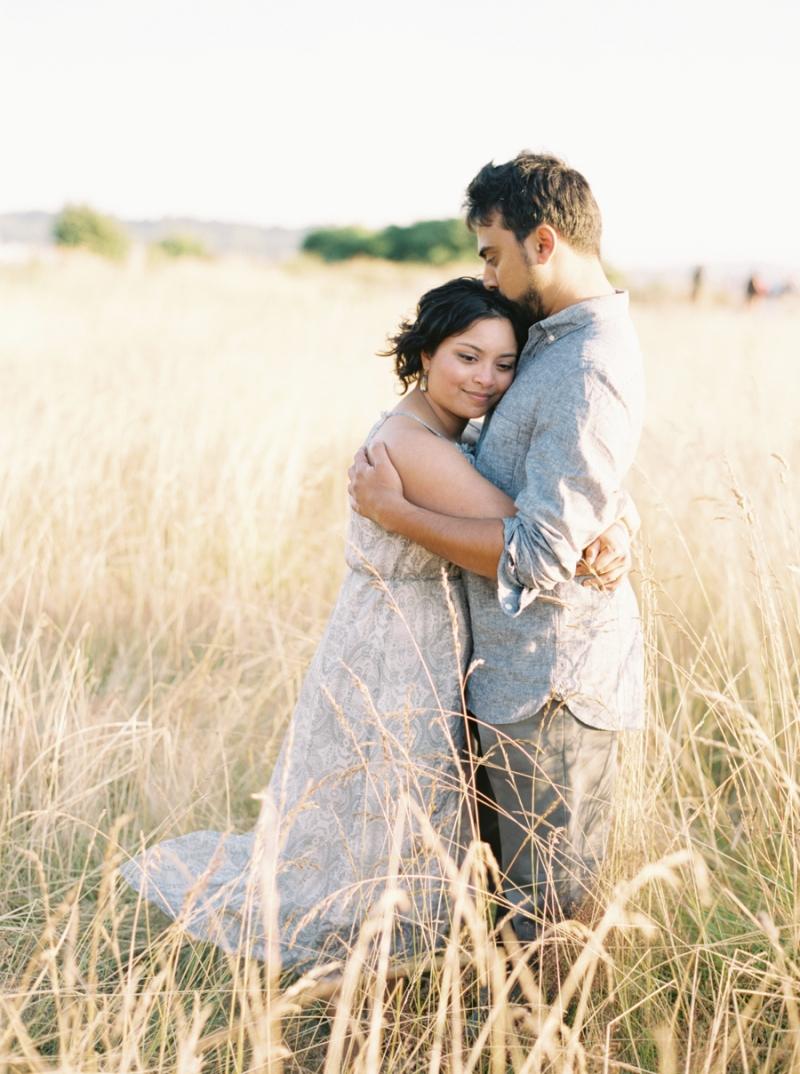 Seattle fine art film wedding photographer golden gardens