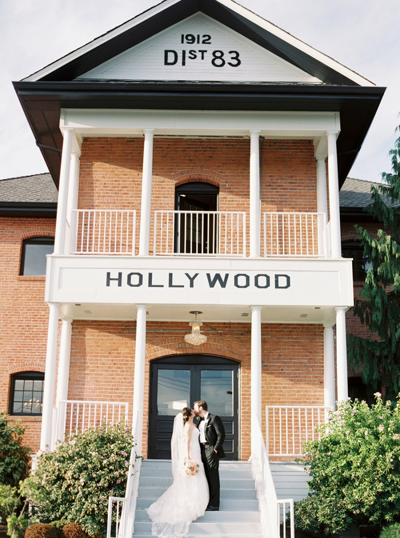 Hollywood Schoolhouse Wedding Woodinville WA