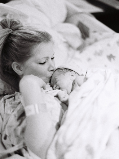 Seattle Birth Photography on film