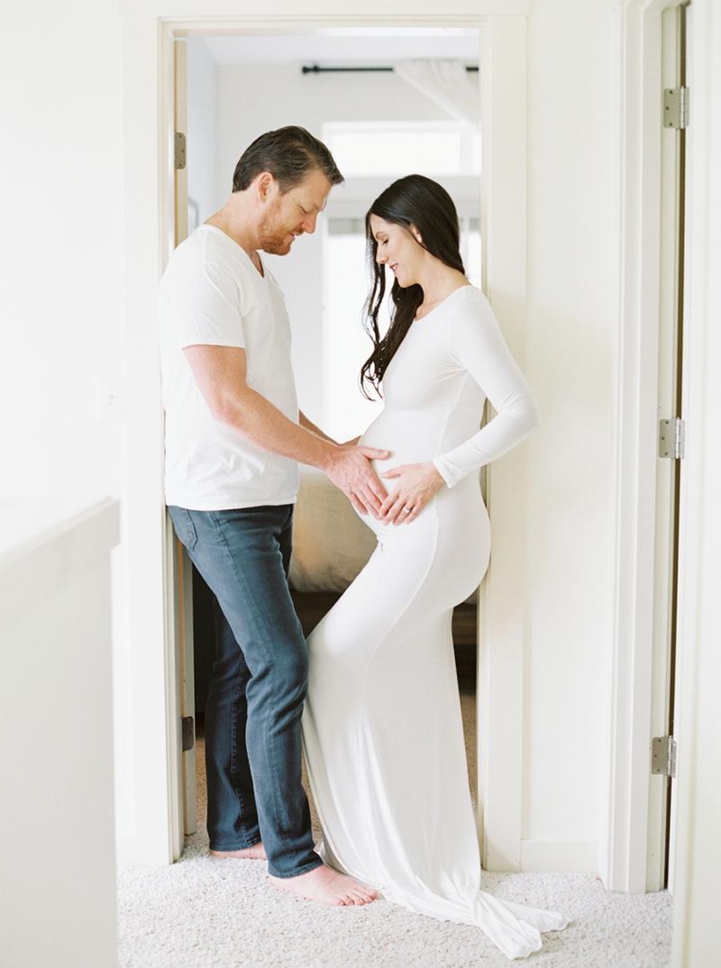 Seattle Fine Art Film Maternity Photographer