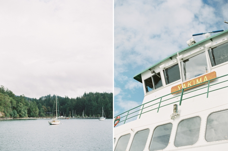 Orcas Island Film Wedding Photographer