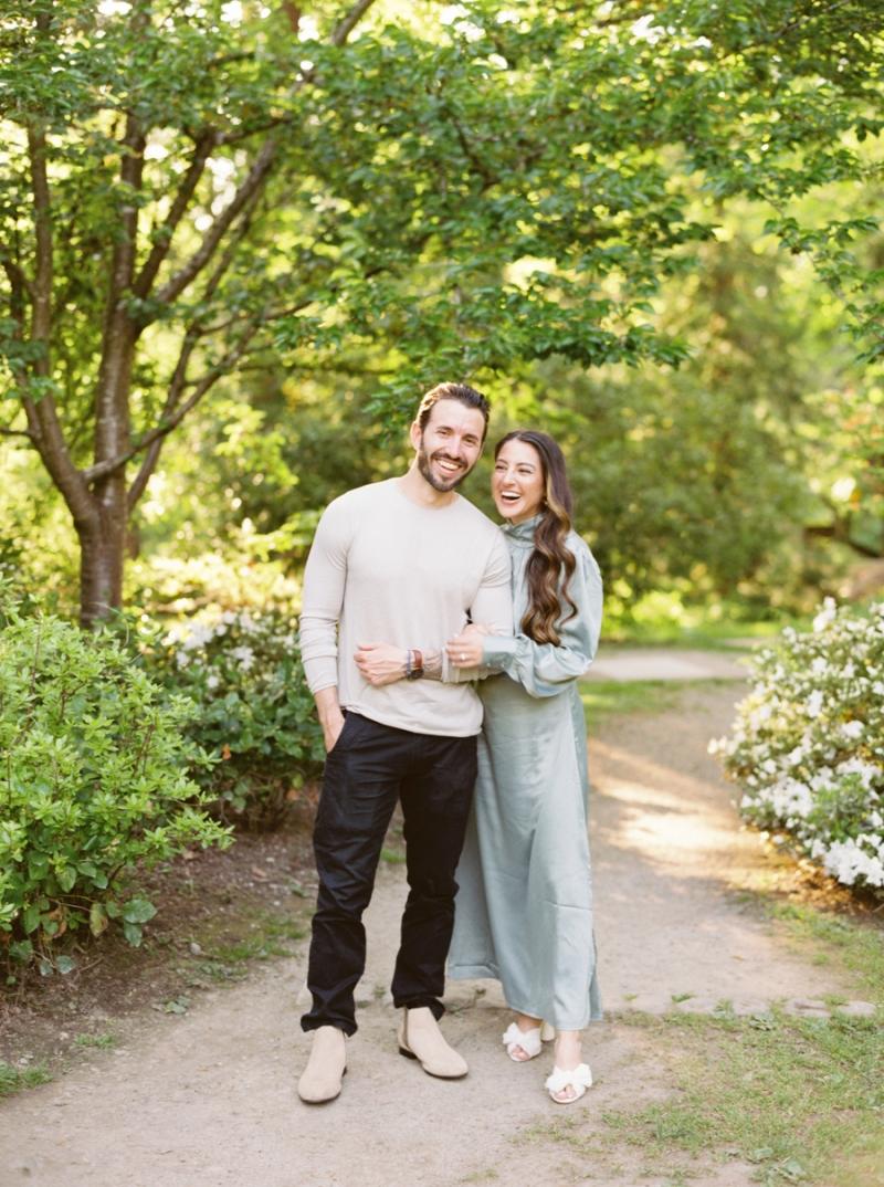 Seattle Engagement Photos Film Arboretum