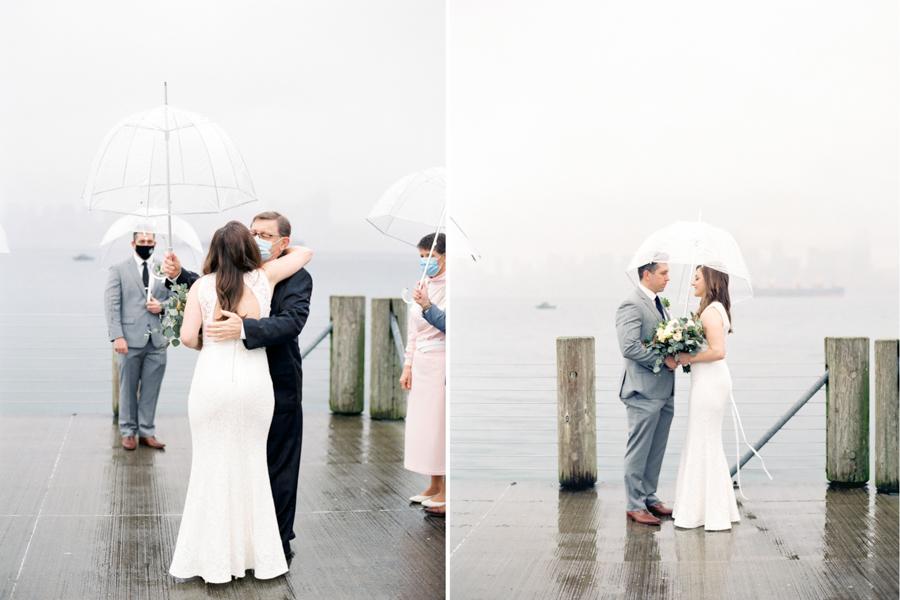 west seattle elopement photographer on film