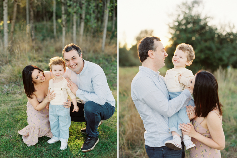 Seattle Film Family Photographer